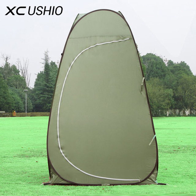 1 Person Portable Outdoor Pop Up Changing Tent 120*120*190cm Automatic Bottomless Steel : cheap 1 man pop up tent - memphite.com