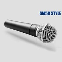 Sm 58 57 microfone clássico com fio, microfone dinâmico tradicional com fio, karaoke, canto sm58lc sm58
