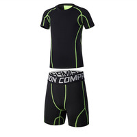 Quick Dry Boys Running Sets Sports Basketball Suits Children Gym Fitness Compression Suits Jogging Training Youth Sportswear
