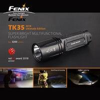 Red Dot Award 2018 Winner Fenix TK35UE Cree XHP70 LED 3200 Lumens Rechargeable Super Bright Multifunctional Flashlight