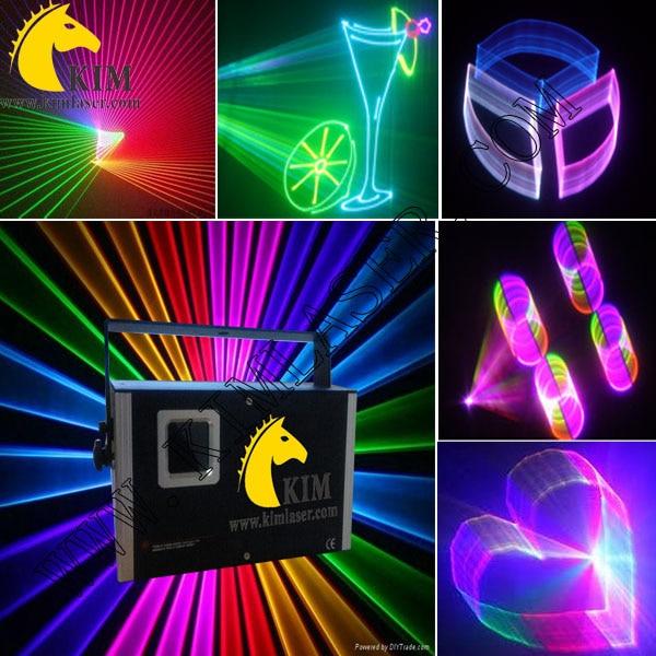 Мутил функциональная 1.5 Вт RGB лазерного излучения с 2D / 3D / SD карты / dj лазерного света / клуб лазерного освещения / освещение сцены / паб лазерно