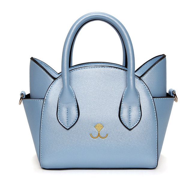 f29c143e6f5 New Trend Women s Cat Handbags Girls  Crossbody Bags Cute PU Leather Hobos  Bags