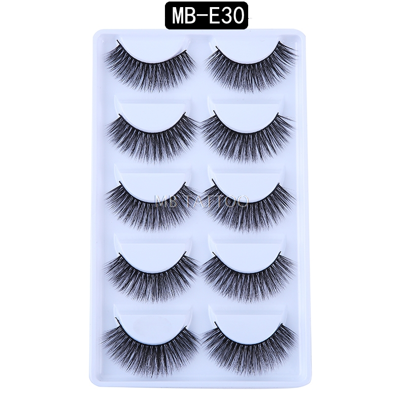 HTB1qO7KQ9zqK1RjSZFLq6An2XXal New 3D 5 Pairs Mink Eyelashes extension make up natural Long false eyelashes fake eye Lashes mink Makeup wholesale Lashes