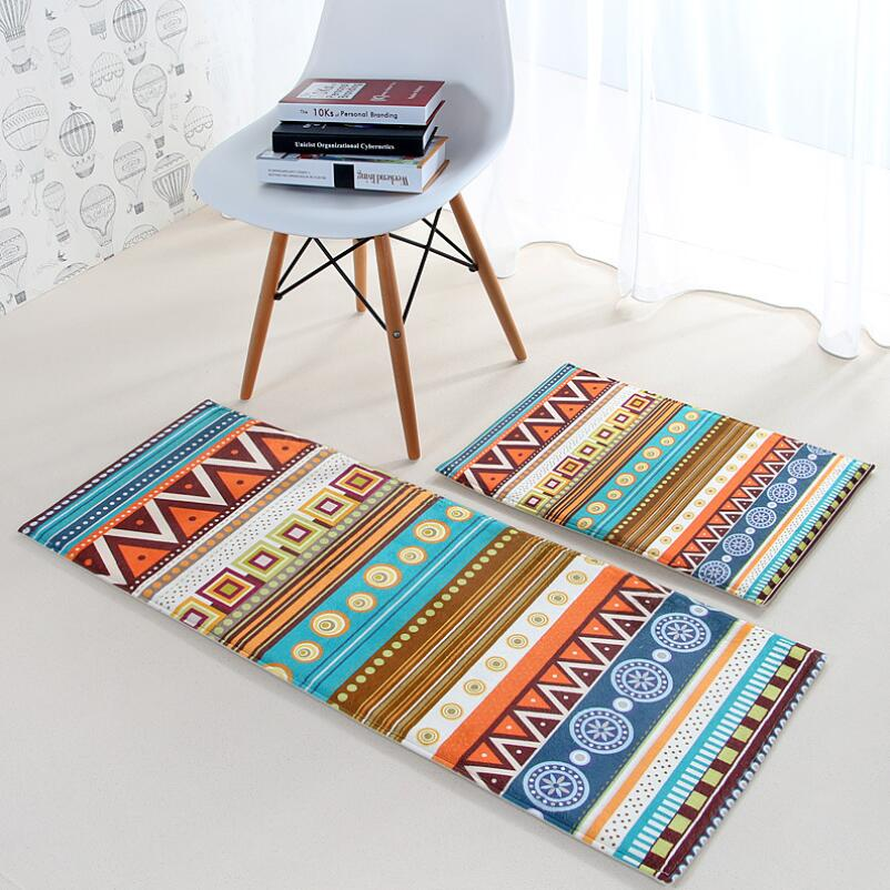 Aliexpress.com : Buy Ethnic Style Kitchen Rugs Hallway Bedside Carpet  Washable Door Mats Free Shipping From Reliable Door Mats Indoor Suppliers  On Enfove ...