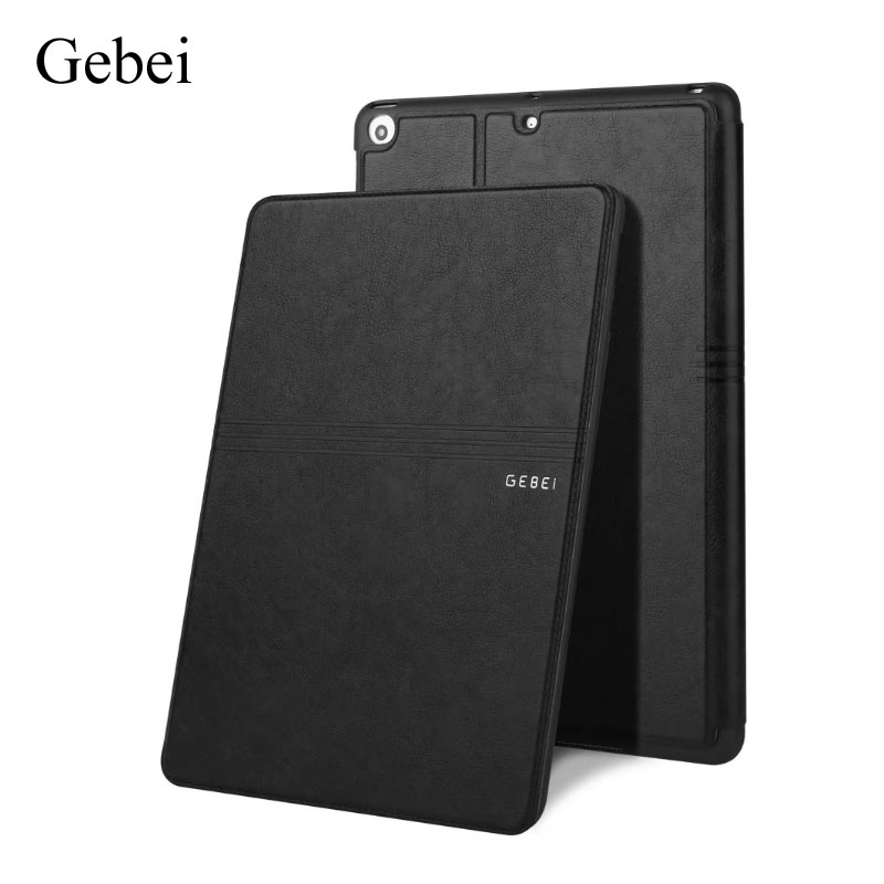 for iPad New 9.7 2017 A1822 A1823 Cover, fashion Ultra-thin case,Leather Case, smart sleep/wake up Tablet cover back shell for new ipad 9 7 2017 genuine leather cover case for new ipad 9 7 inch a1822 a1823 ultra thin slim case protector