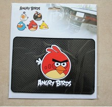 2016 year New hot sell Angry birds car anti slip pad for Mobile phone Mp4 Mp5 GPS
