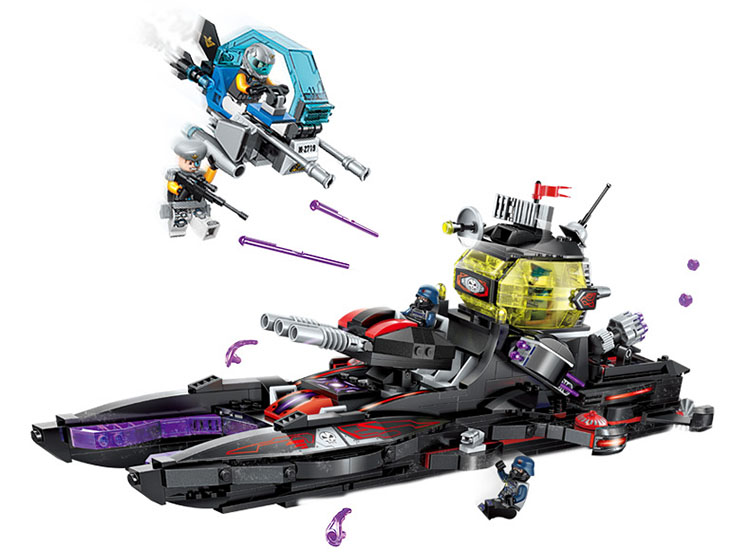 Building Blocks Compatible with Lego Enlighten E2719 675P Models Building Kits Blocks Toys Hobby Hobbies For Chlidren