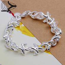 Top Quality Hot Sell Silver Plated Bracelet,Wedding Jewelry Accessories,Fashion Silver Wooden Branches Bracelets Bangle