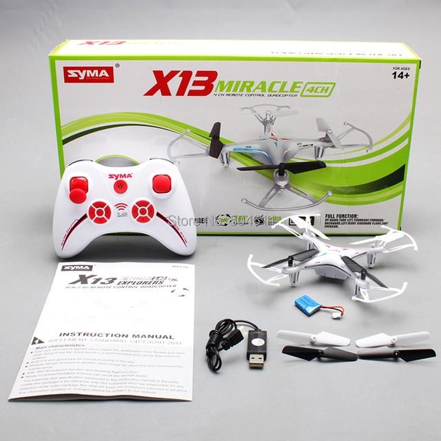 Сыма X13 ЧУДО ГИРОСКОПА 2.4 Г 4CH 6-осевой Мини Вертолет и Quadcopter Quad Вертолет RTF