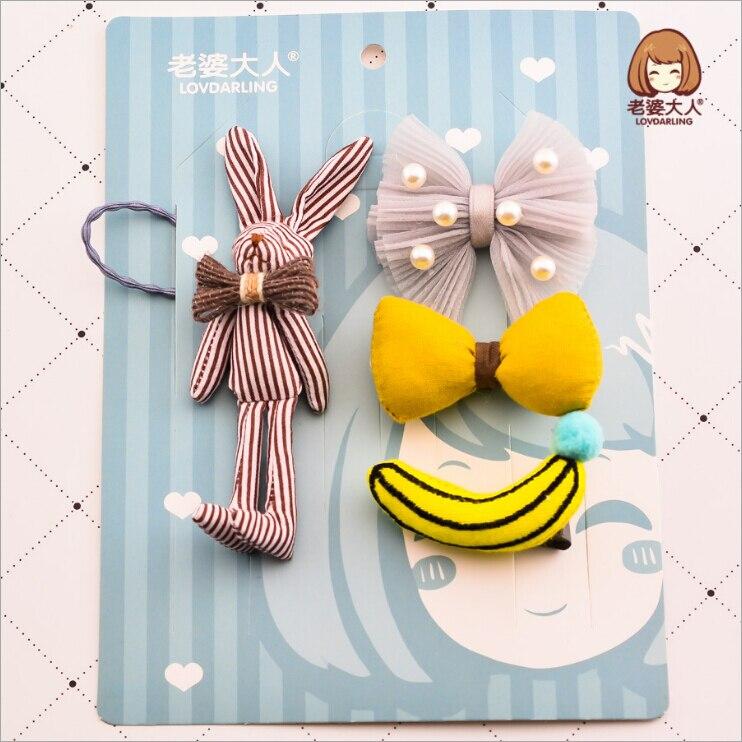 1 Satz Niedlichen Cartoon Bowknot Haarnadel Geburtstagsgeschenk Für Baby Mädchen Kinder Haarspangen Bögen Haarspange Zubehör Haarspange Kopfschmuck
