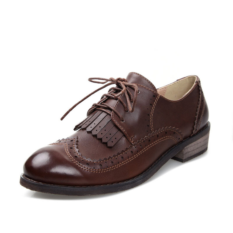 British Style Leather Shoes