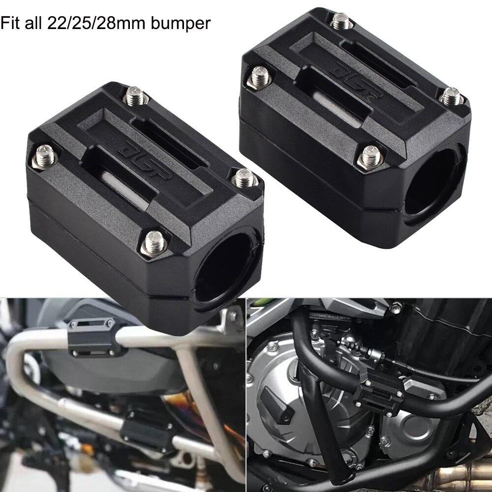 Pare-chocs de Protection de Protection de moteur pour Honda Africa Twin CRF1000L NC700X VFR1200X Crosstourer Suzuki v-strom DL 650 1000 Triumph BMW