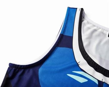 Chaleco de DRAGON BALL para hombre, camiseta de verano con impresión de anime Broli, camiseta sin mangas para jóvenes corriendo, nuevo disfraz cosplay de anime para hombre