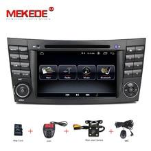 HD 1024*600 Сенсорный экран машинный DVD проигрыватель для Мерседес w211 Android 8,1 мультимедиа W209 W219 3g WI-FI Радио Стерео gps DVR