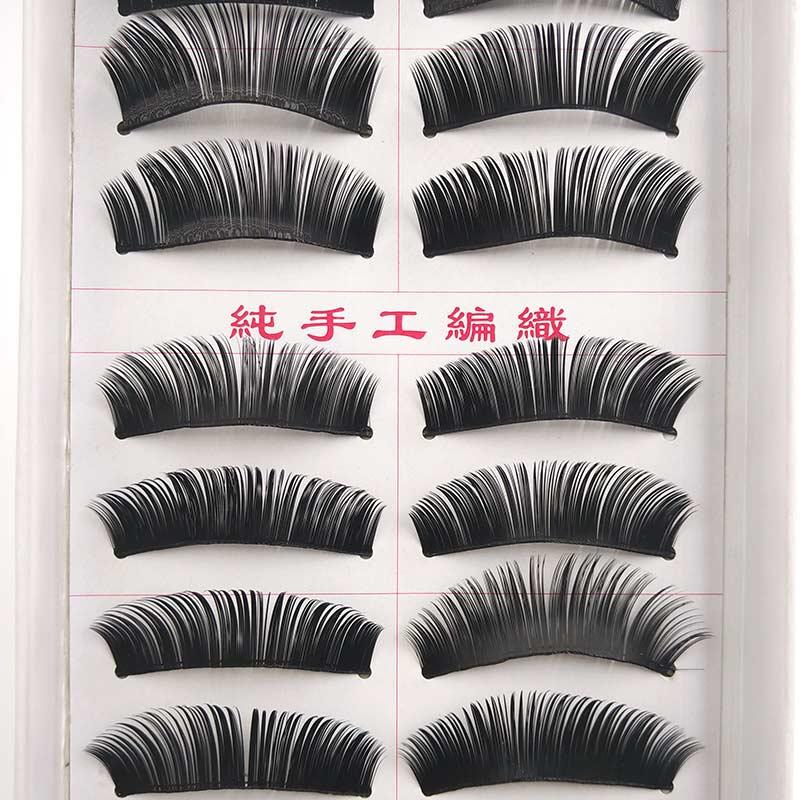 50 Pairs False Eyelashes Thick Lashes Soft Natural Long Fake