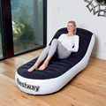 Outdoor inflatable sofa bed sofa inflatable adult household portable thickened flocking sofa