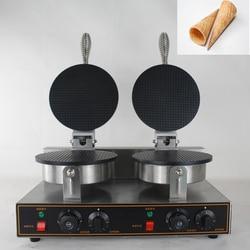 China commercial Double head ice cream cone machine,waffle cone making machine