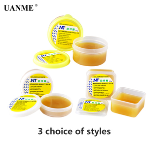 Image 4 - UANME NT ZJ 18 50g 80g 150g Yellow paste Advance Quality Solder Flux Soldering Paste High Intensity Free Rosin