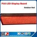 Kaler из светодиодов экраны открытый водонепроницаемый p10 из светодиодов панели из светодиодов признаки электронные из светодиодов экрана 16 * 96 пикселей