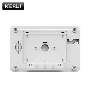 Image 3 - Pannello di Controllo di Allarme KERUI 8218G Bianco Nero IOS Android APP controllo GSM PSTN Antifurto Casa Sistema di Allarme di Sicurezza