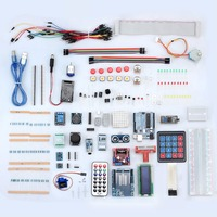 eSYNiC Professional UNO R3 Starter Kit For Arduino LCD Compass Gyro DIY Beginners 50 Kinds Electronic Components UNO R3 Kit