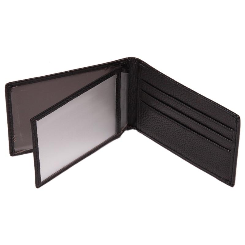 Black PU Credit Business Card Holder ID Card Holder Case Drive License Card Cover Case #874941