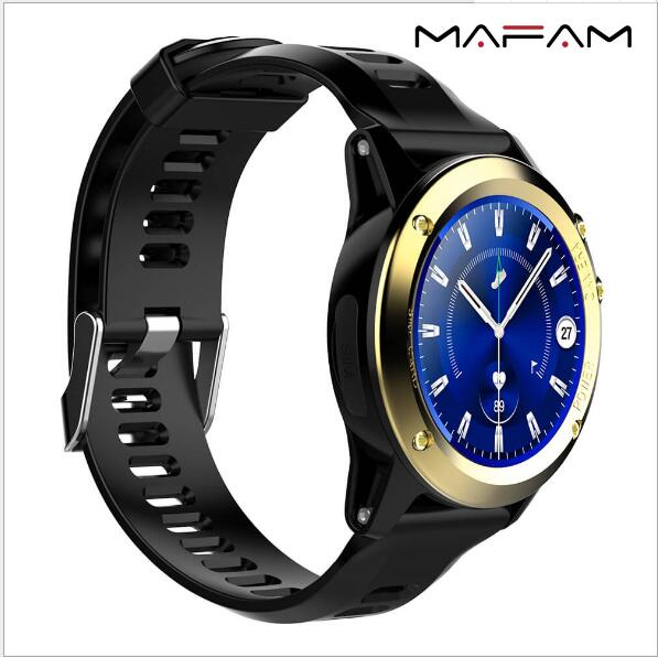 2018Smart Watch Android 5.1 H1MF16 Altitude Compass Heart rate GPS depth Fully waterproof Professional outdoor sports watch Benz xinda professional lift weight pulley device rescue survive gear outdoor rock climb high altitude