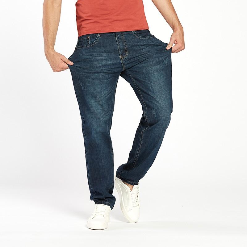Drizzte Men Jeans Plus Ölçü 28-dən 46-dək Trendy Stretch Stretch - Kişi geyimi - Fotoqrafiya 3