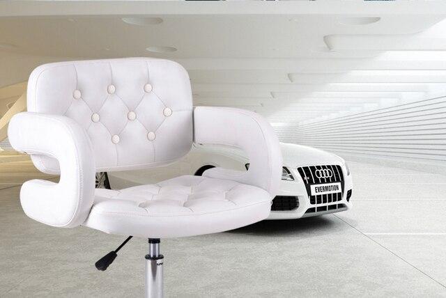 Colore bianco sedie sgabelli da bar mobili sedili mall negozio di