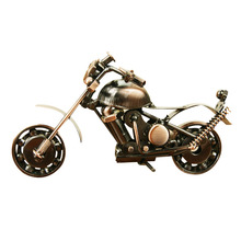 Creative scooter Metal Crafts DIY motorcycle Craft For Friend Birthday Best Gift Home Decoration Accessories Table Figurine
