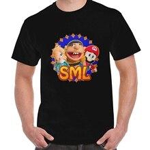 1b3cf68ff270 New SML JEFFY ROSALINA MARIO Men Fashion Men O-Neck T Shirt Size S-