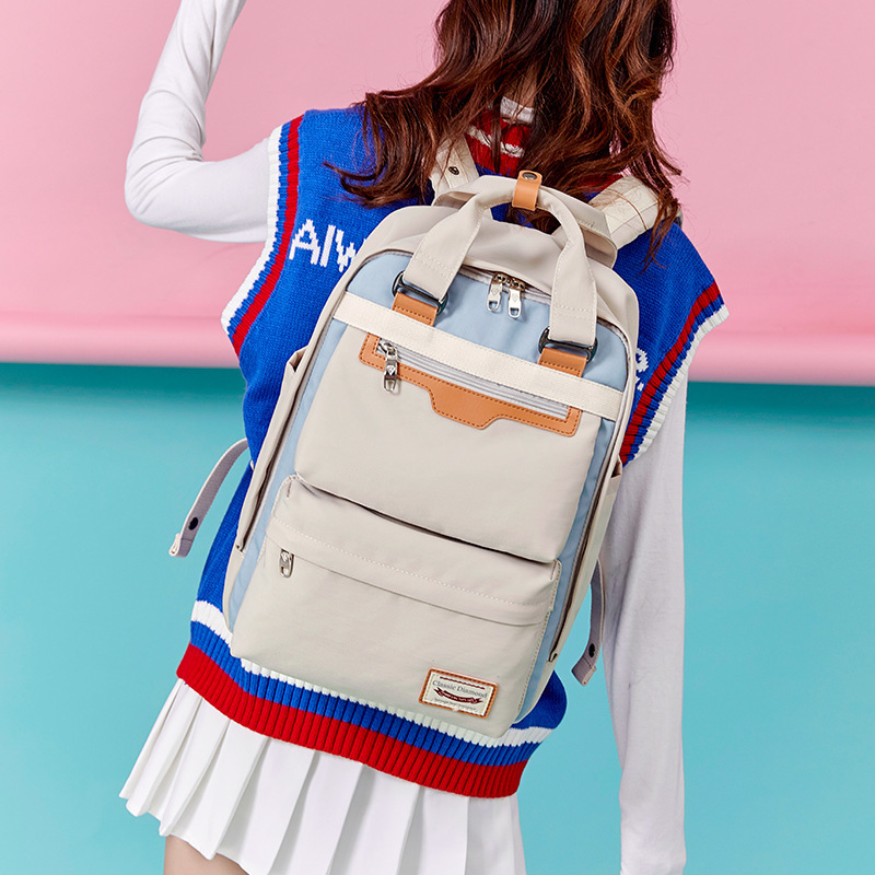 Girls Campus Backpack For Middle Bag School Students Backpacks Schoolbags Mochilas Escolares Randoseru Marshmello Rugzak Jongens