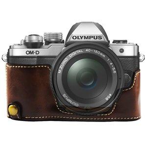 Image 2 - Задняя крышка для Olympus OMD EM10 из искусственной кожи Mark II 2 Camera