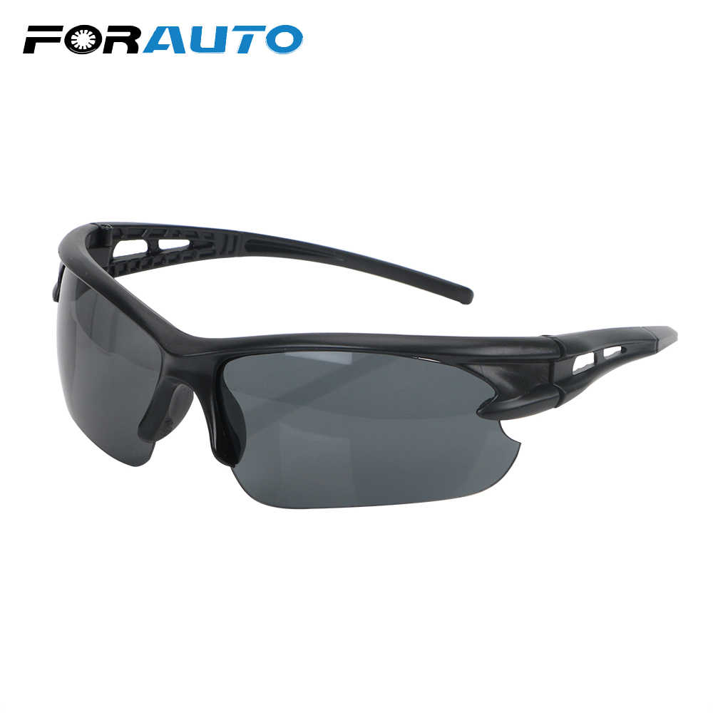 FORAUTO Night Vision Glasses Windproof Insect Proof Explosion-proof Sunglasses Plain Glass Spectacles For Outdoor Riding