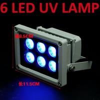 UV glue Shadowless glue Curing Lights UV lamps 6 LED UV lamp Ultraviolet Curing Lights