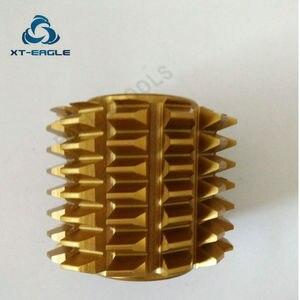Image 5 - Yellow coating HSS DP10 DP11  DP12  DP13  DP14 DP16 DP18 DP20 DP22 DP24  Gear Hob Cutter PA20 degree