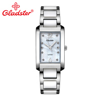 Gladster Luxury Japan MIYOTA GL30 Ceramic Women Watch Bracelet Lady Dress Quartz Wristwatch Sapphire Crystal Analog Female Watch