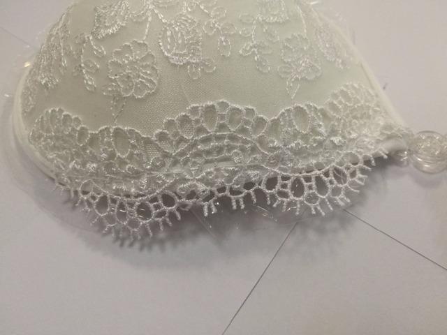 Women's Lace Adhesive Bra