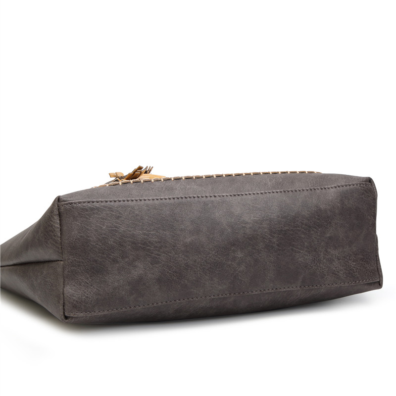 Vintage Tassel Women Totes Bag  2