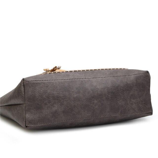 Causal Tassel Shoulder Bag 2