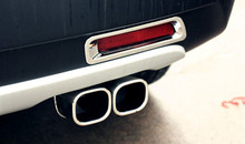for Suzuki SX4 S cross 2013-2015 Stainless Steel Exhaust Pipe Tail Pipe Muffler Car Styling Auto Accessories 1 to 2