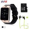 Lemado Bluetooth GV18 smart watch Поддержка SIM GSM Видео камера с 1,3-МЕГАПИКСЕЛЬНОЙ КАМЕРОЙ Для Android Мобильный телефон