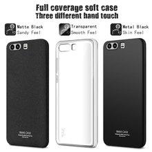 IMAK Полное Покрытие Soft Silicone Case for Huawei P10 Плюс Case защитный Чехол Case Cover Для p10 Плюс Бесплатный Подарок Протектор Экрана