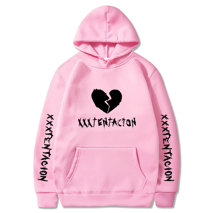 XXXTentacion Hoodies Sweatshirt Suprem Men Women Casual Pullover Streetwear Sudadera Hombre Hip Hop HOODIES Funny Print Hoodies