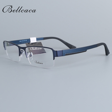 Bellcaca Spectacle Frame Men Eyeglasses Computer Optical Prescription Myopia Eye Clear Lens Glasses Frame For Male Eyewear 2386