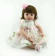 """22 """"Adora Muñeca Reborn Baby Toddler Girls Corto Y Rizado Brown Hair Jugar Juguetes Muñeca Bebé Reborn Muñeca de Vestido de Princesa"""