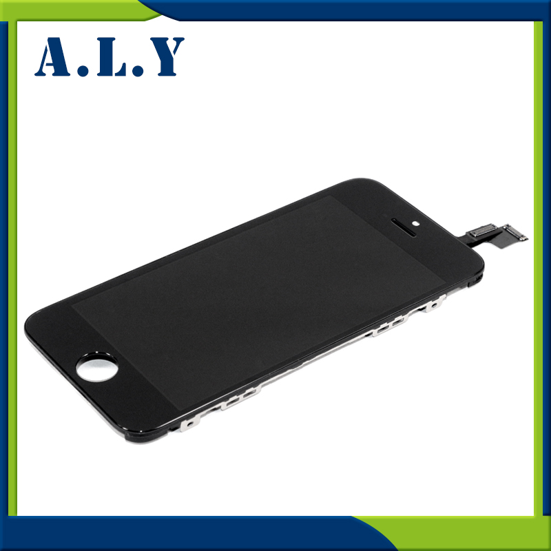 [sample]  Grade AAA No Dead Pixel For iPhone 5C LCD Display Digitizer With Touch Screen Replacement Assembly Parts Free DHL