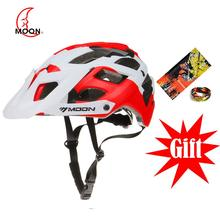 MOON Bicycle Helmet MTB Cycling Bike Sports Safety OFF-ROAD Professional For All Terrain Mountain