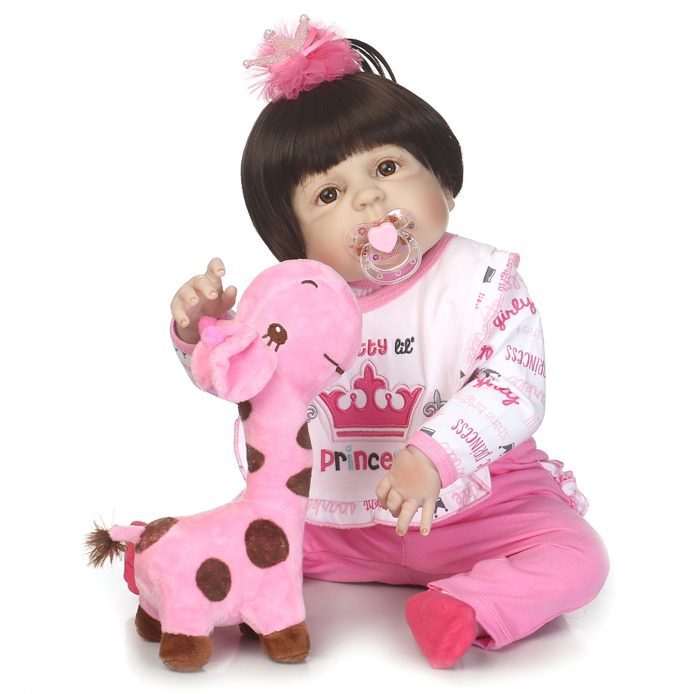 23  Full Body Silicone Reborn Girl Baby Doll Toy Lifelike can enter water Newborn Princess Toddler Babies Dolls Birthday Gift23  Full Body Silicone Reborn Girl Baby Doll Toy Lifelike can enter water Newborn Princess Toddler Babies Dolls Birthday Gift
