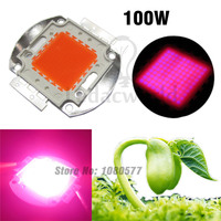 1pcs High Power 100W LED Plant Grow Light 400nm 840nm Full Spectrum Epistar Chip COB Diodes